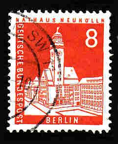 Germany Used Scott #9N125 Catalog Value $.35