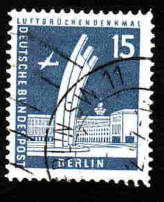 Germany Used Scott #9N127 Catalog Value $.25