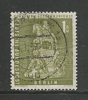 Germany Used Scott #9N135 Catalog Value $2.00