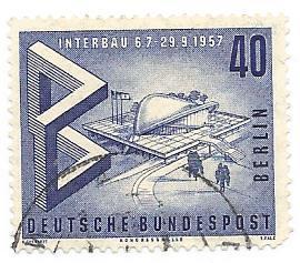 Germany Used Scott #9N147 Catalog Value $2.00