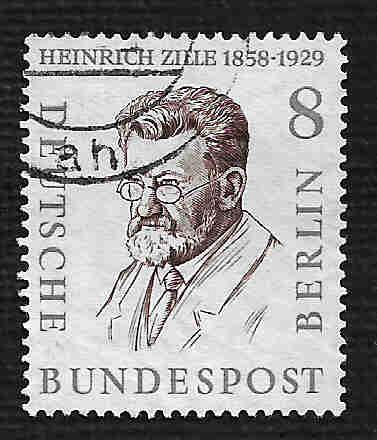 German Used Scott #9N149 Catalog Value $.25.