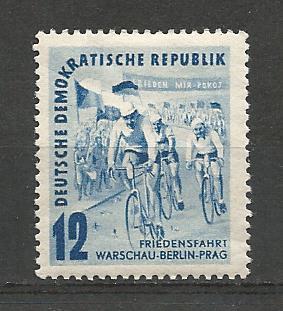 German DDR Hinged Scott #98 Catalog Value $2.95
