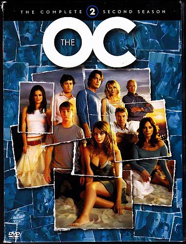 The O.C. - Complete Season 2 DVD 2012, 7-Disc Set - Good