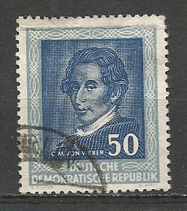 German DDR Used Scott #102 Catalog Value $2.50