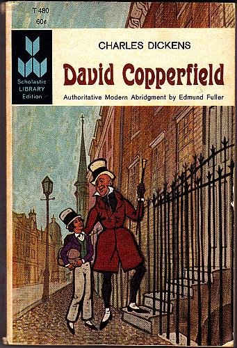 David Copperfield (Scholastic library Ed) by Charles Dickens 1962 Paperback - Good