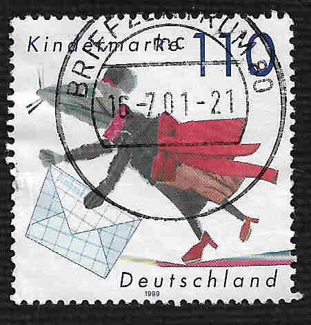 German Used Scott #2053 Catalog Value $2.00