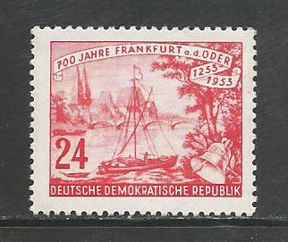 Germany DDR MNH Scott #153 Catalog Value $1.10