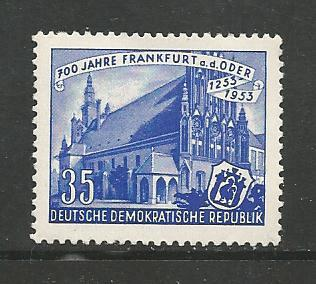 Germany DDR MNH Scott #154 Catalog Value $1.25