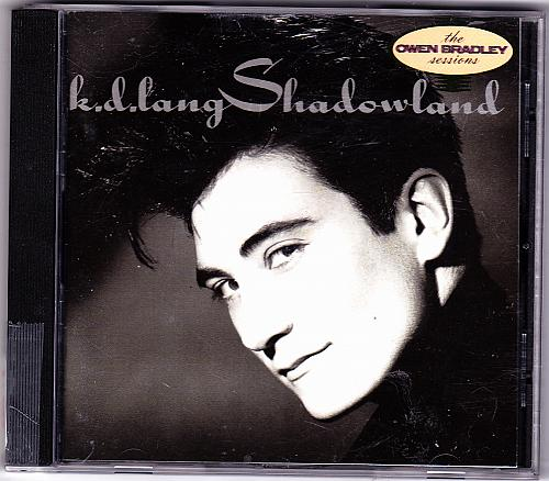 Shadowland by K. D. Lang CD 1988 - Very Good