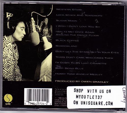 Shadowland by K. D. Lang CD 1988 - Very Good