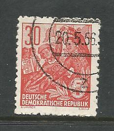 Germany DDR Used Scott #198 Catalog Value $.25
