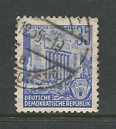Germany DDR Used Scott #199 Catalog Value $.25