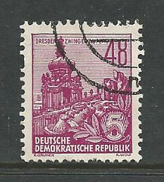 Germany DDR Used Scott #201 Catalog Value $.25