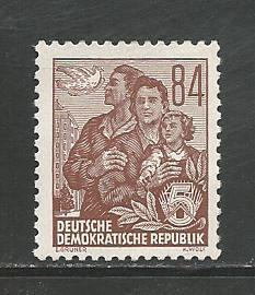 German DDR Hinged Scott #204 Catalog Value $3.51
