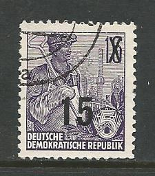 Germany DDR Used Scott #219 Catalog Value $.25