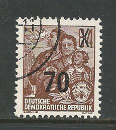Germany DDR Used Scott #223 Catalog Value $.25