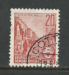 Germany DDR Used Scott #228 Catalog Value $.25