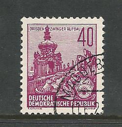 Germany DDR Used Scott #229 Catalog Value $.25