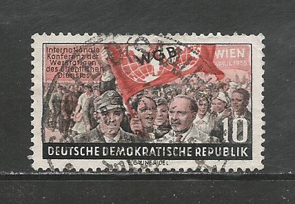 Germany DDR Used Scott #235 Catalog Value $.70