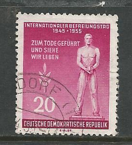 Germany DDR Used Scott #237 Catalog Value $.90