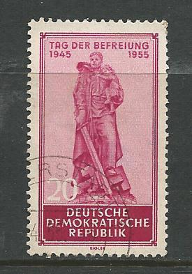 Germany DDR Used Scott #238 Catalog Value $.80