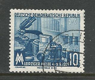 Germany DDR Used Scott #253 Catalog Value $.35