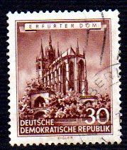Germany DDR Used Scott #269 Catalog Value $8.50