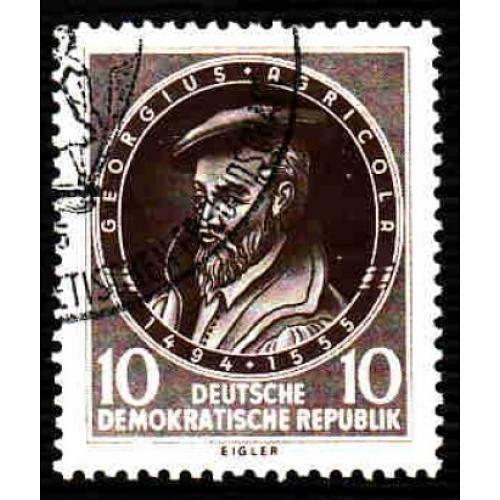 Germany DDR Used Scott #271 Catalog Value $.40