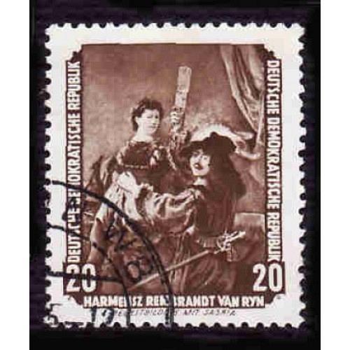 Germany DDR Used Scott #275 Catalog Value $.25