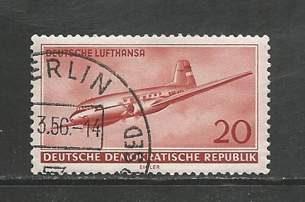 Germany DDR Used Scott #283 Catalog Value $.35