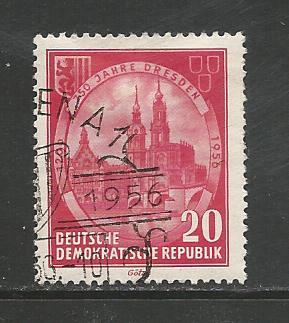 Germany DDR Used Scott #292 Catalog Value $.25