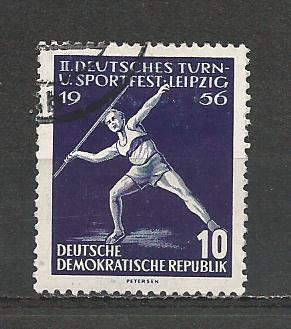 Germany DDR Used Scott #298 Catalog Value $.25