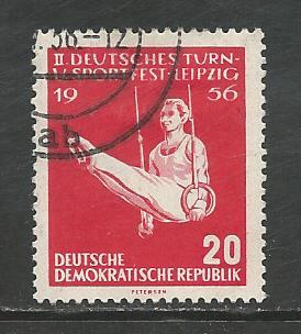 Germany DDR Used Scott #300 Catalog Value $.25