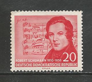 German DDR Hinged Scott #304 Catalog Value $1.95