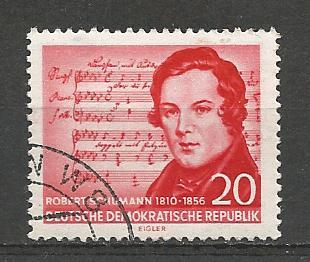 Germany DDR Used Scott #304 Catalog Value $.25