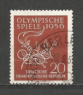Germany DDR Used Scott #307 Catalog Value $.35