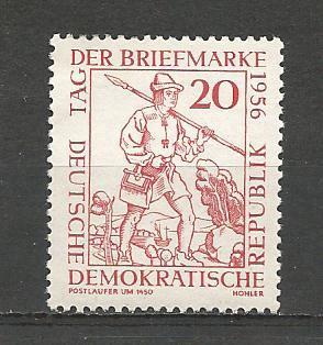 German DDR Hinged Scott #309 Catalog Value $.45