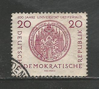 Germany DDR Used Scott #310 Catalog Value $.35
