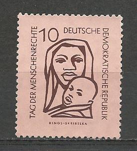 German DDR Hinged Scott #315 Catalog Value $.25