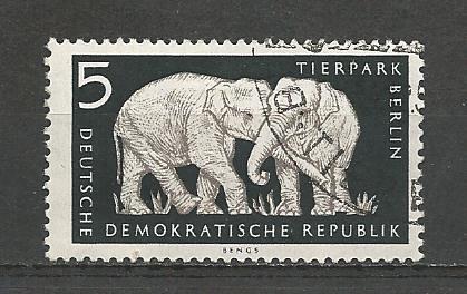 Germany DDR Used Scott #317 Catalog Value $.25