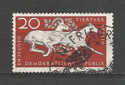 Germany DDR Used Scott #320 Catalog Value $.25