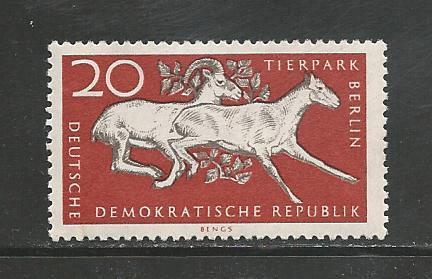 German DDR Hinged ng Scott #320 Catalog Value $.25