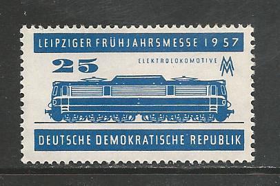 German DDR Hinged Scott #324 Catalog Value $.25
