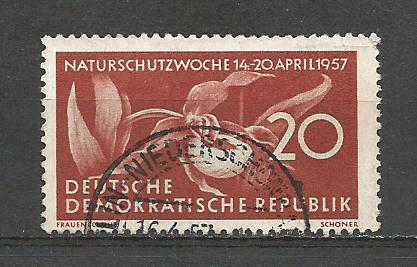 Germany DDR Used Scott #327 Catalog Value $.25