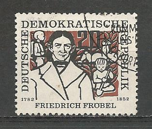 Germany DDR Used Scott #329 Catalog Value $.25