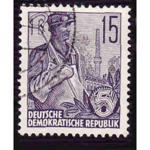 Germany DDR Used Scott #332 Catalog Value $.25