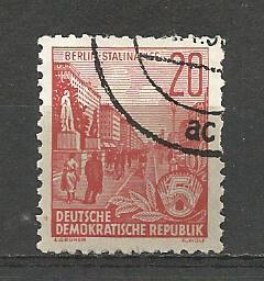 Germany DDR Used Scott #333 Catalog Value $.25