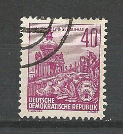 Germany DDR Used Scott #336 Catalog Value $.25