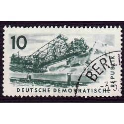 Germany DDR Used Scott #347 Catalog Value $.25