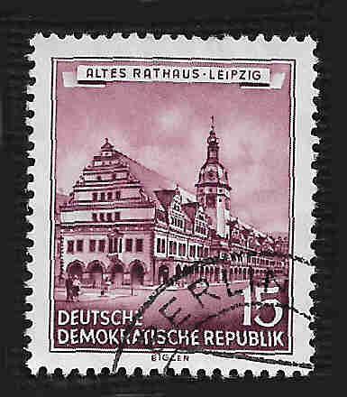 Germany DDR Used Scott #267 Catalog Value $.35